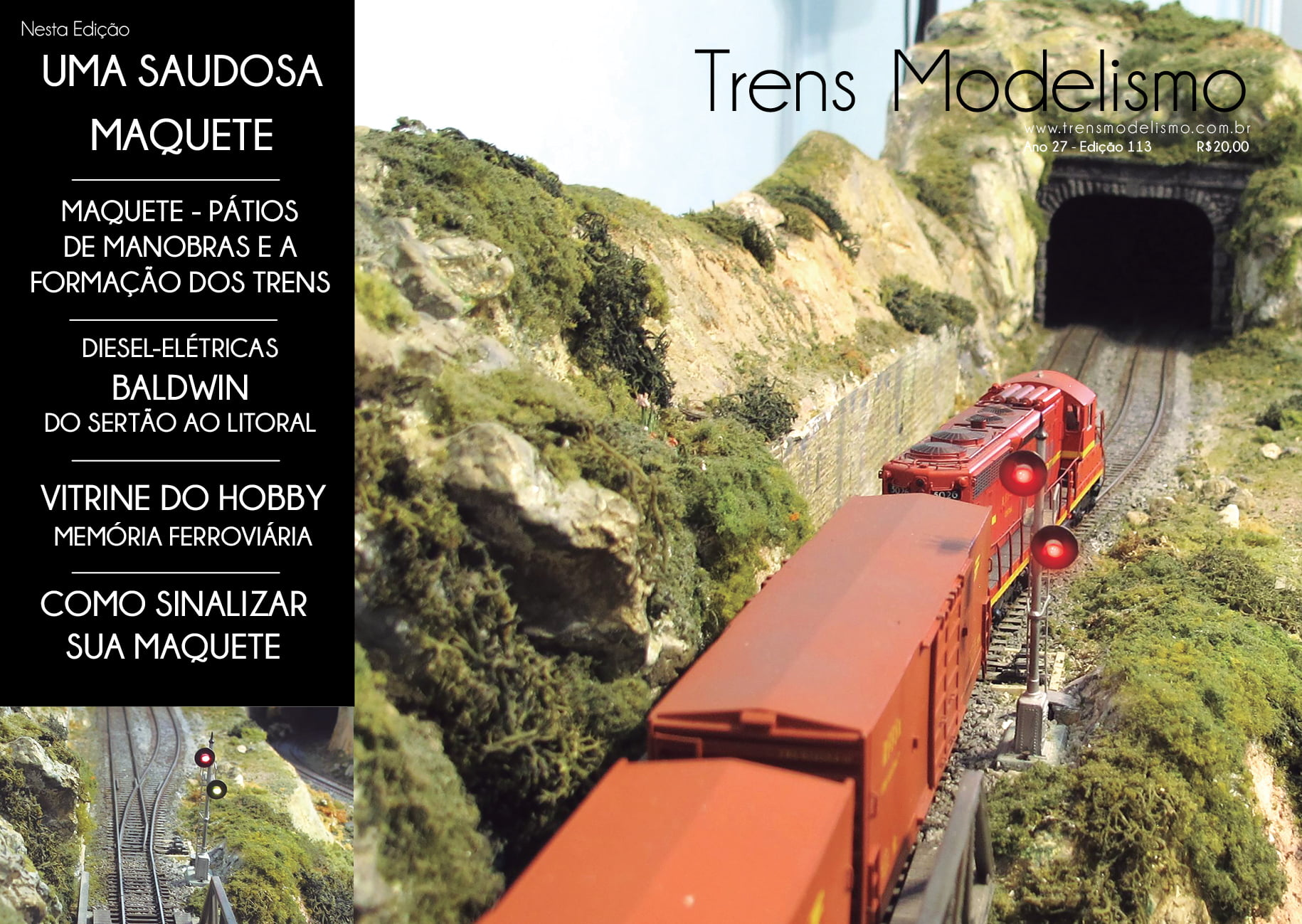 Revista Trens Modelismo Nº 113