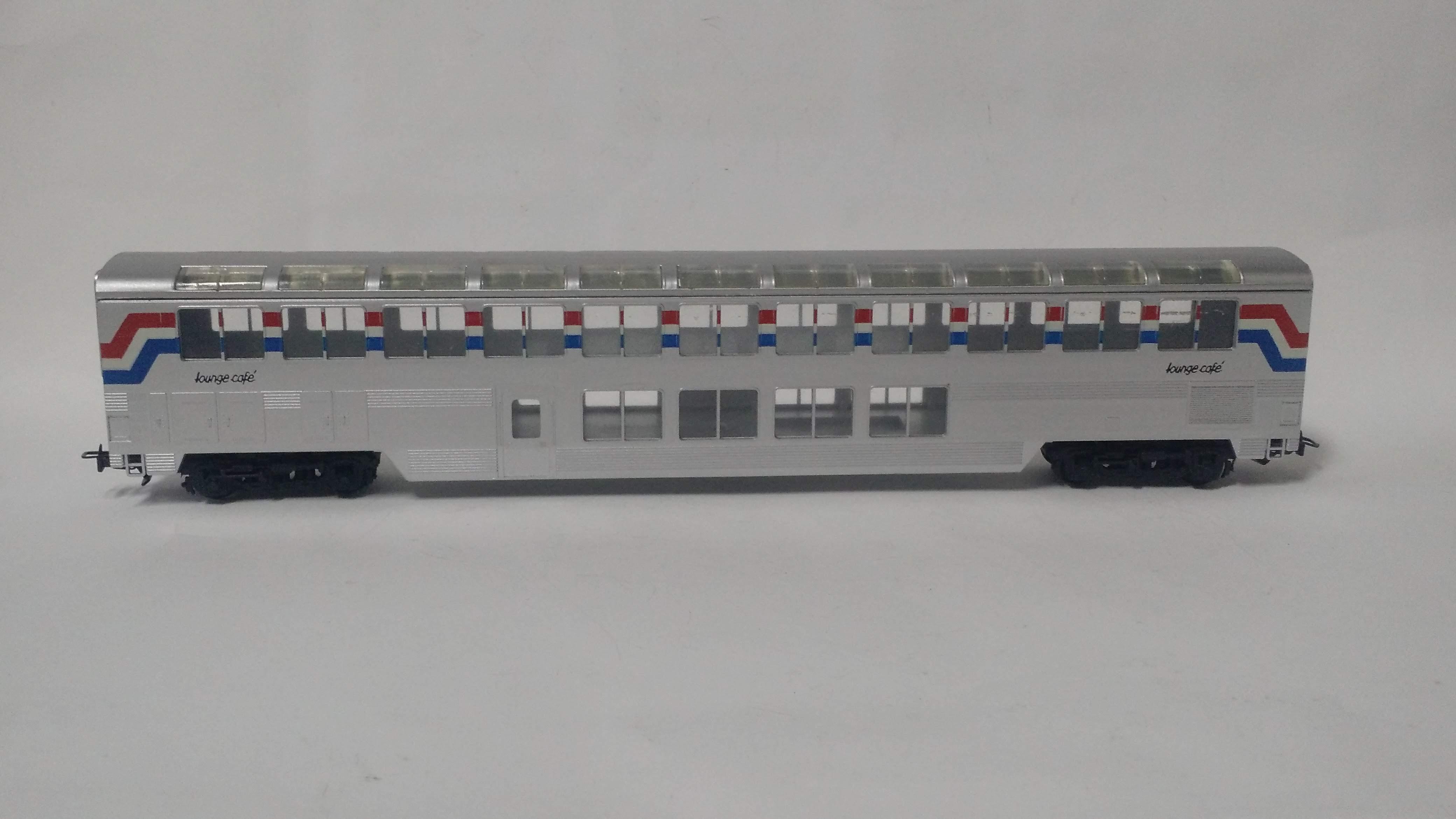 Carro de Passageiro Panorâmico 2 andares- con cor 85710 (Sem interior)