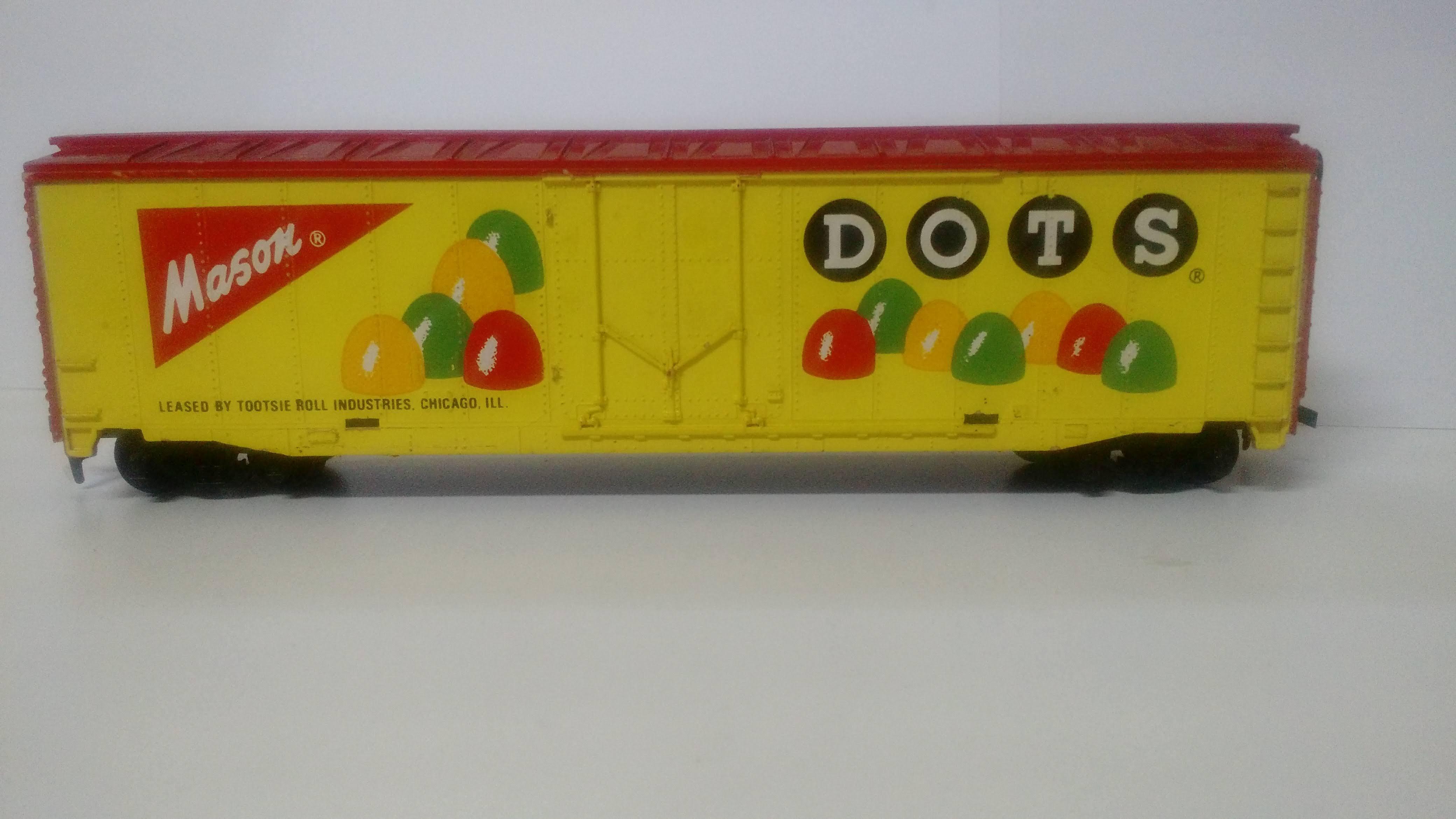 Vagão Box DOTS