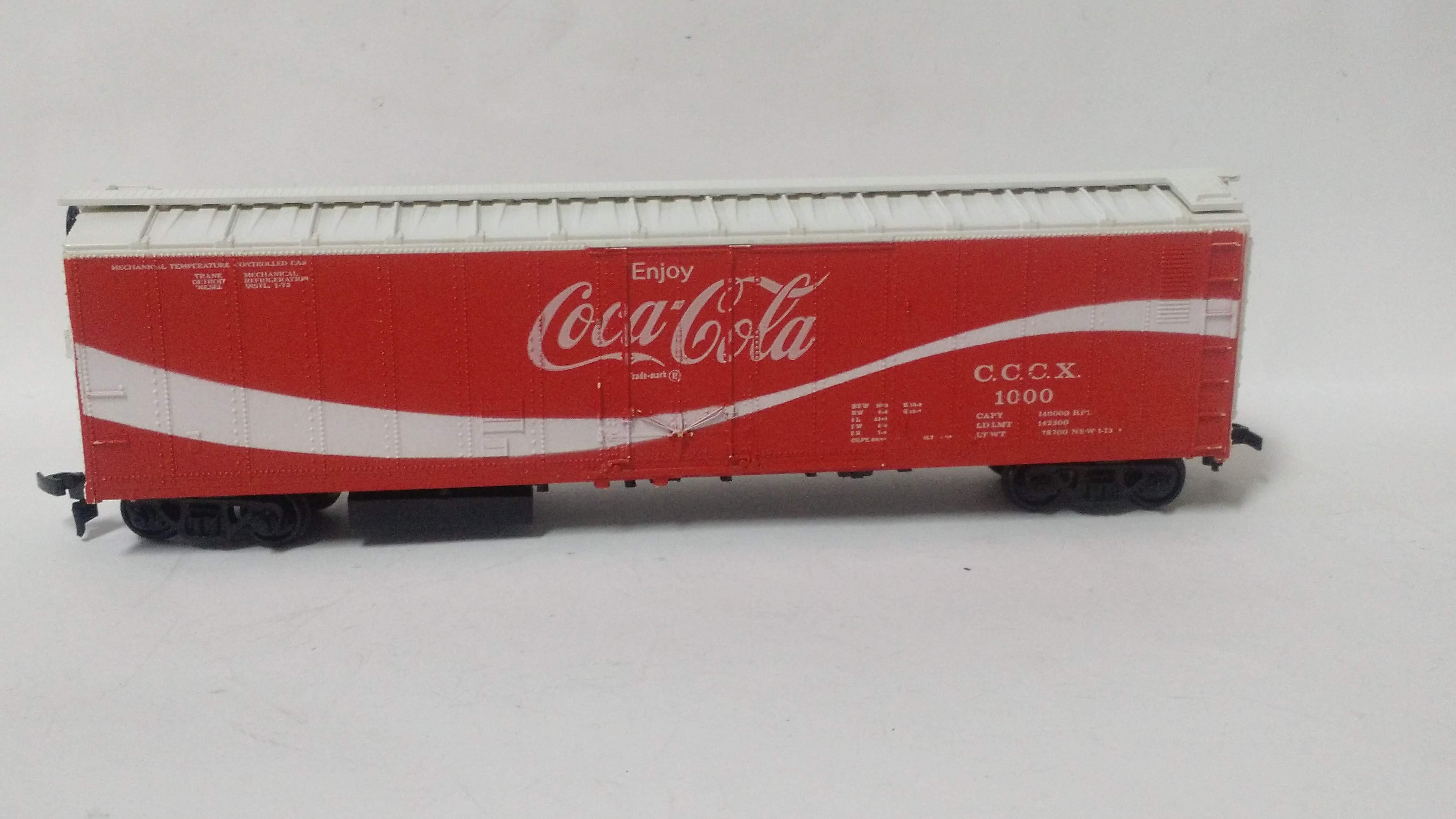 Vagão Fechado Coca Cola #1000 - Athearn
