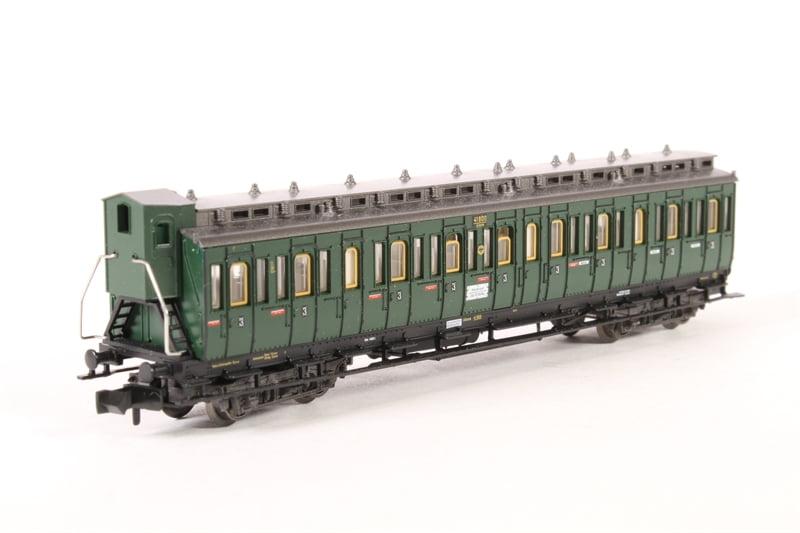Carro 2ª classe DRG época II Fleischmann - 8085