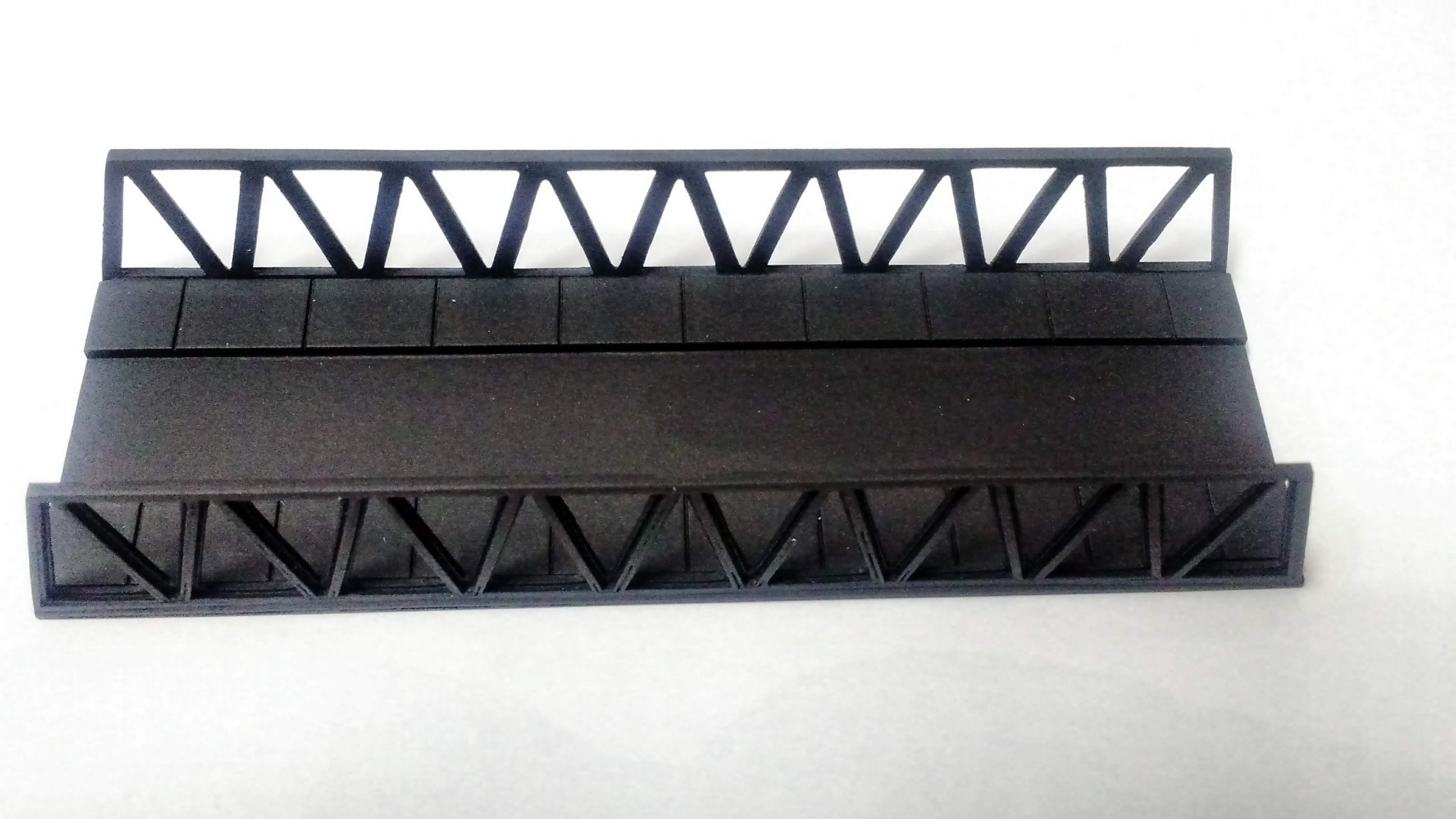 """Pequena Ponte """"N"""" - Qmodel N-19"""