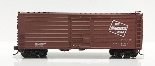 Vagão Box Car Milwaukee # 6524 - Fox Valley Modedels 9011-2