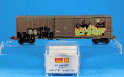 Vagão  Box Car, single Door- BNSF  Micro-Trains - 025 51 740