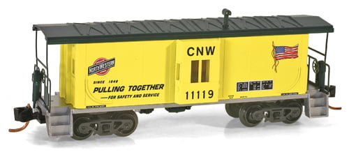 Vagão Caboose Chicago & North Western - Micro-Trains -130 00 030