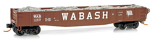 Vagão Gôndola com Carga - Wabash  Micro-Trains - 046 00 270