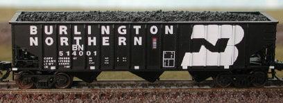 Vagão Hopper Burlington Northern -  Bluford Shops - 14011