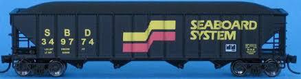 Vagão Hopper -  Seabord System - Trainworx - 2451-04