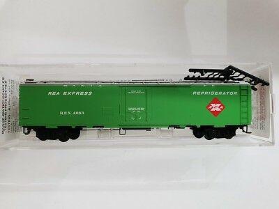 Vagão Refrigerador - Real Express  Micro-Trains - 52030
