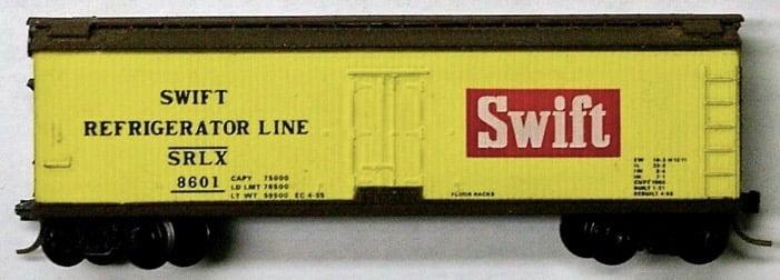 Vagão Refrigerador Swift #8601 - Micro Trains 47070