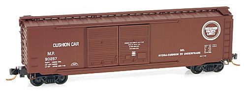 Vagão Standard Box Car, Double Side Doors- Missouri Pacific Micro-Trains - 90257