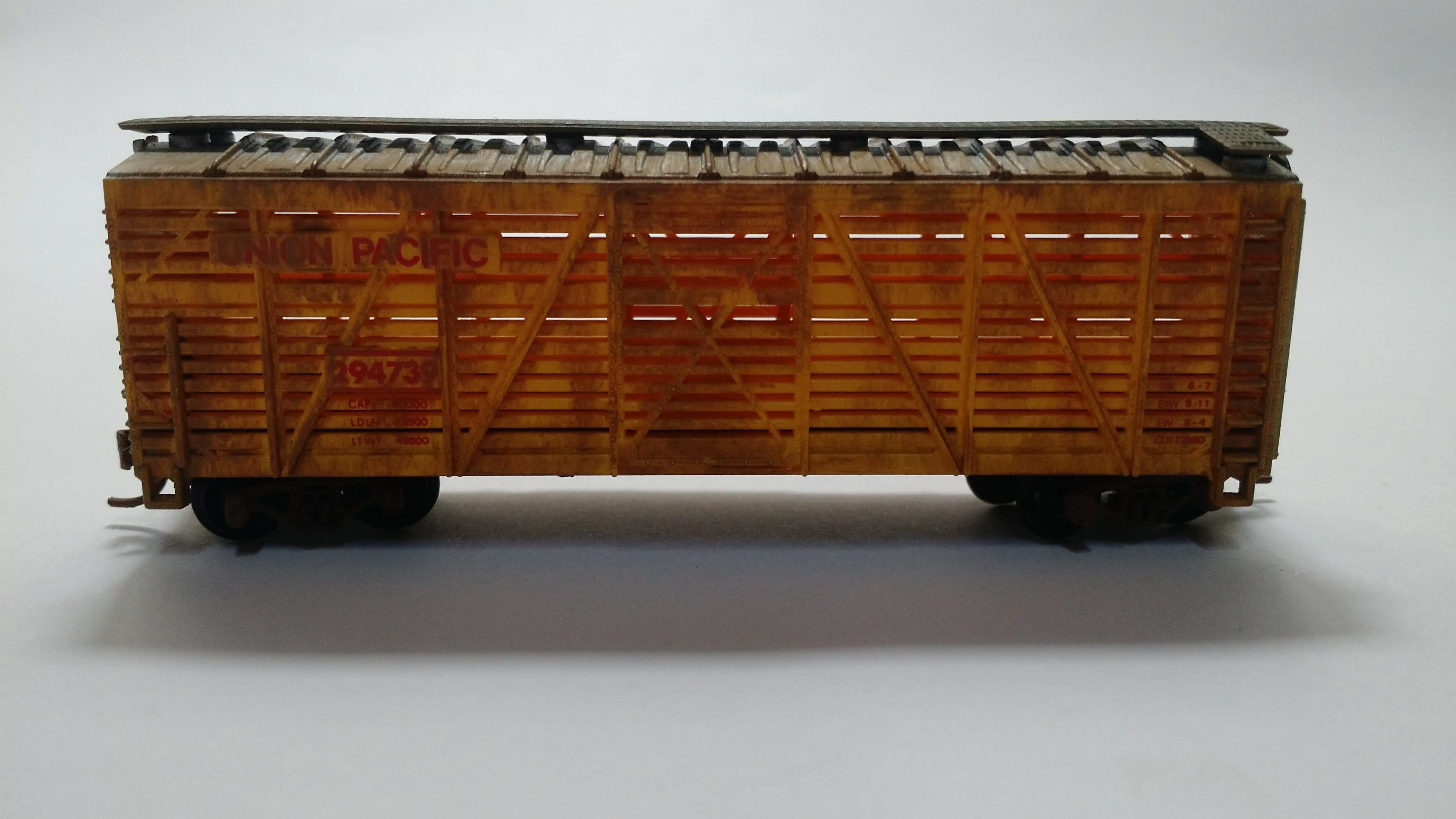 Vagão Stck 40' Union Pacific - Model Power - 3442