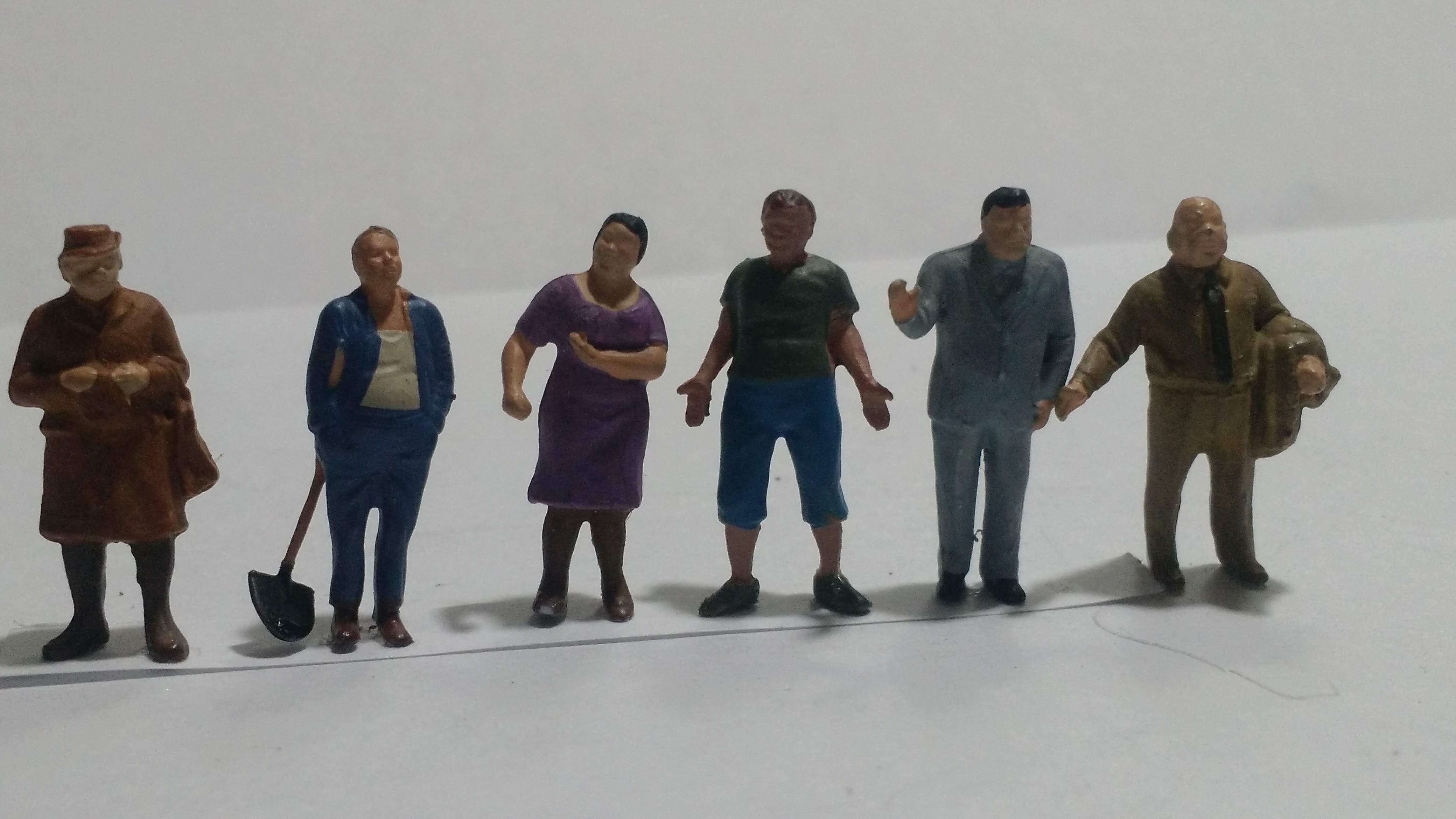 Figura Preiser Obesos - Semi nova