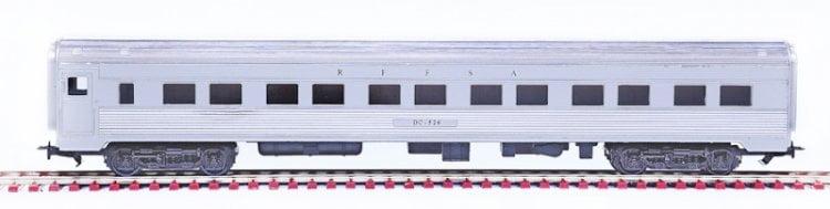 Carro Dormitorio Aço Inox RFFSA - 2503