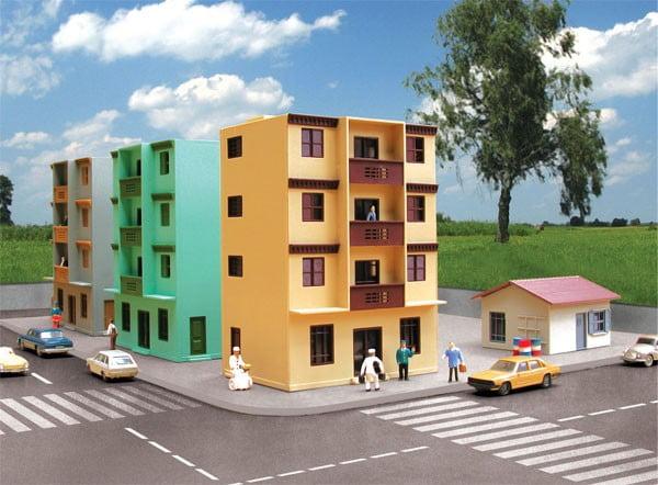 Kit Prédio de Apartamento - 1524