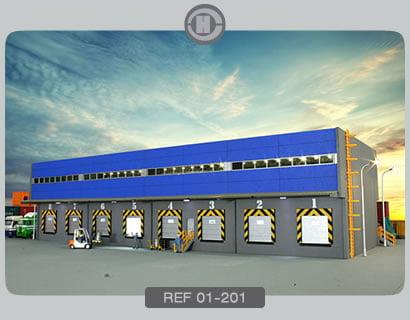 Kit - Terminal Carga Rodoviária 01-201