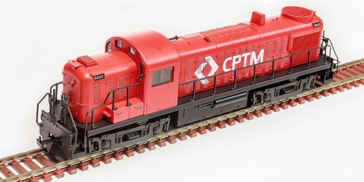 Locomotiva RS-3 CPTM Fase III - FRATESCHI - 3085