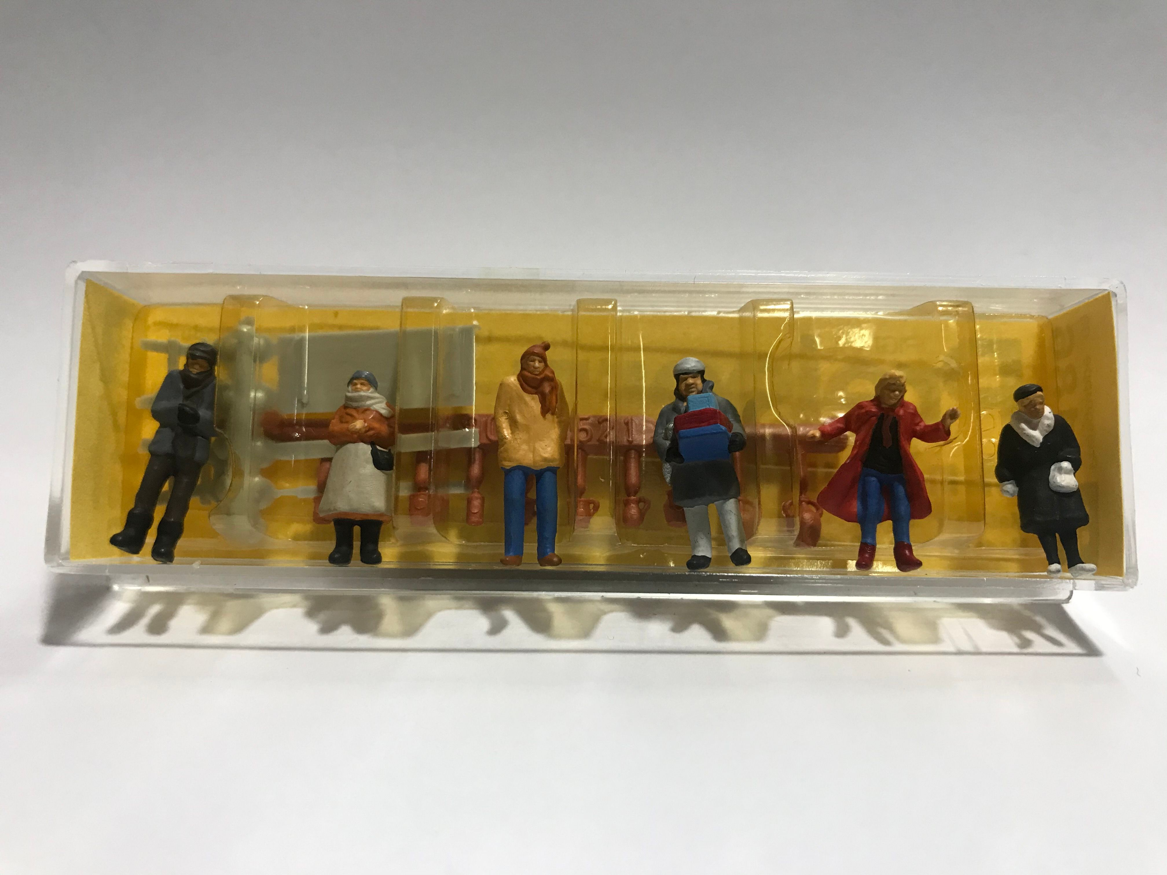 Figura Preiser Feira de Natal - 10186 (0186)