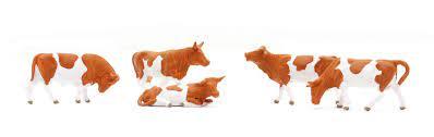 Vacas Preiser 14155 - HO 1/87