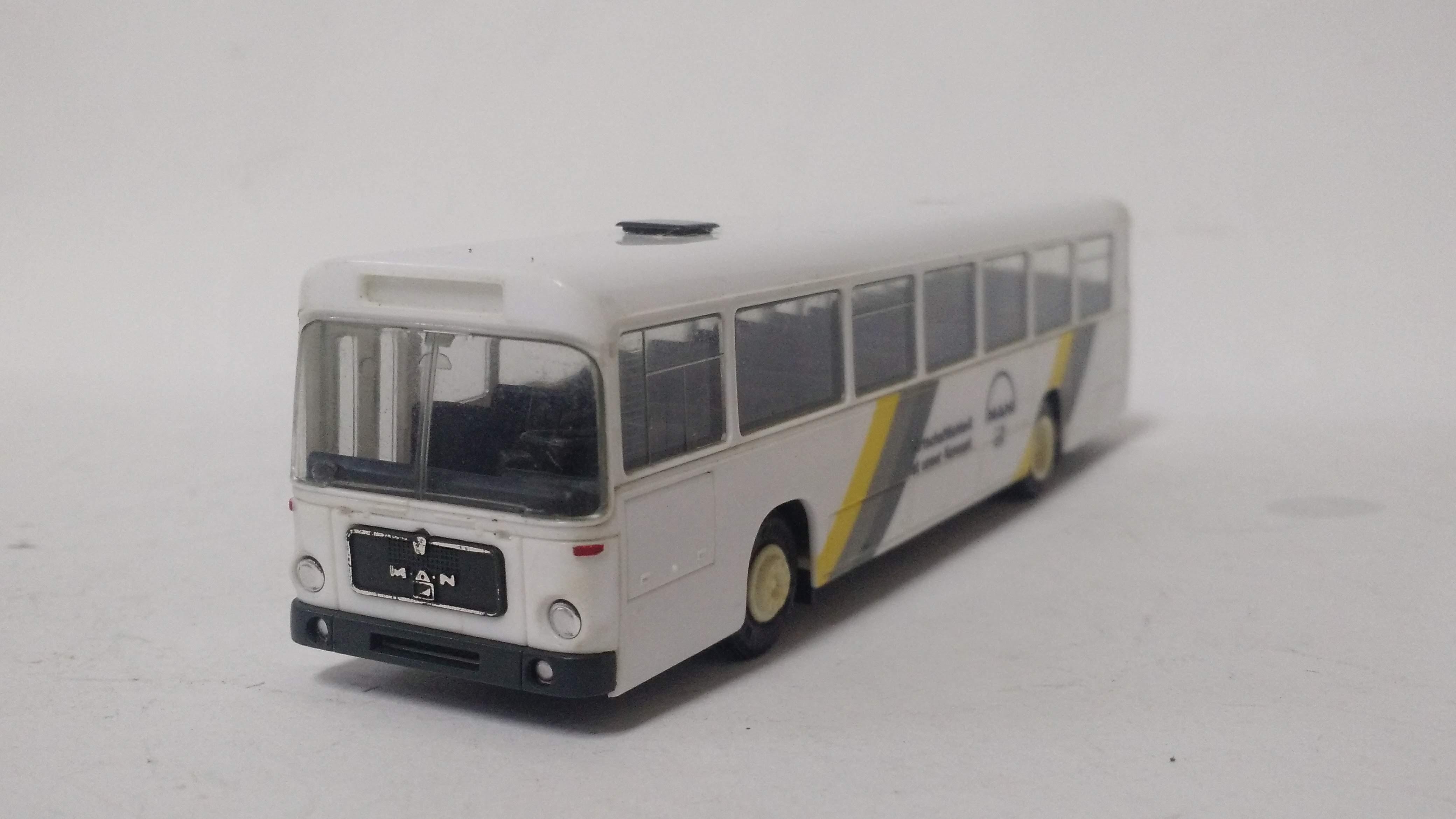 Ônibus Urbano Man SU240 - Herpa (Semi-novo)