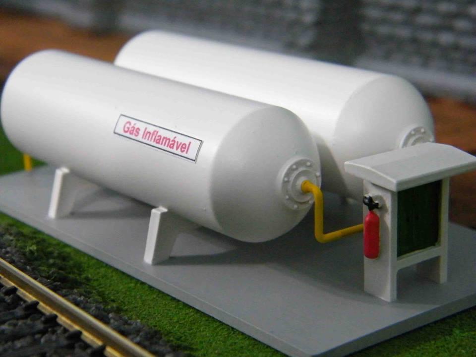 Tanque de Gás Inflamável - C-40