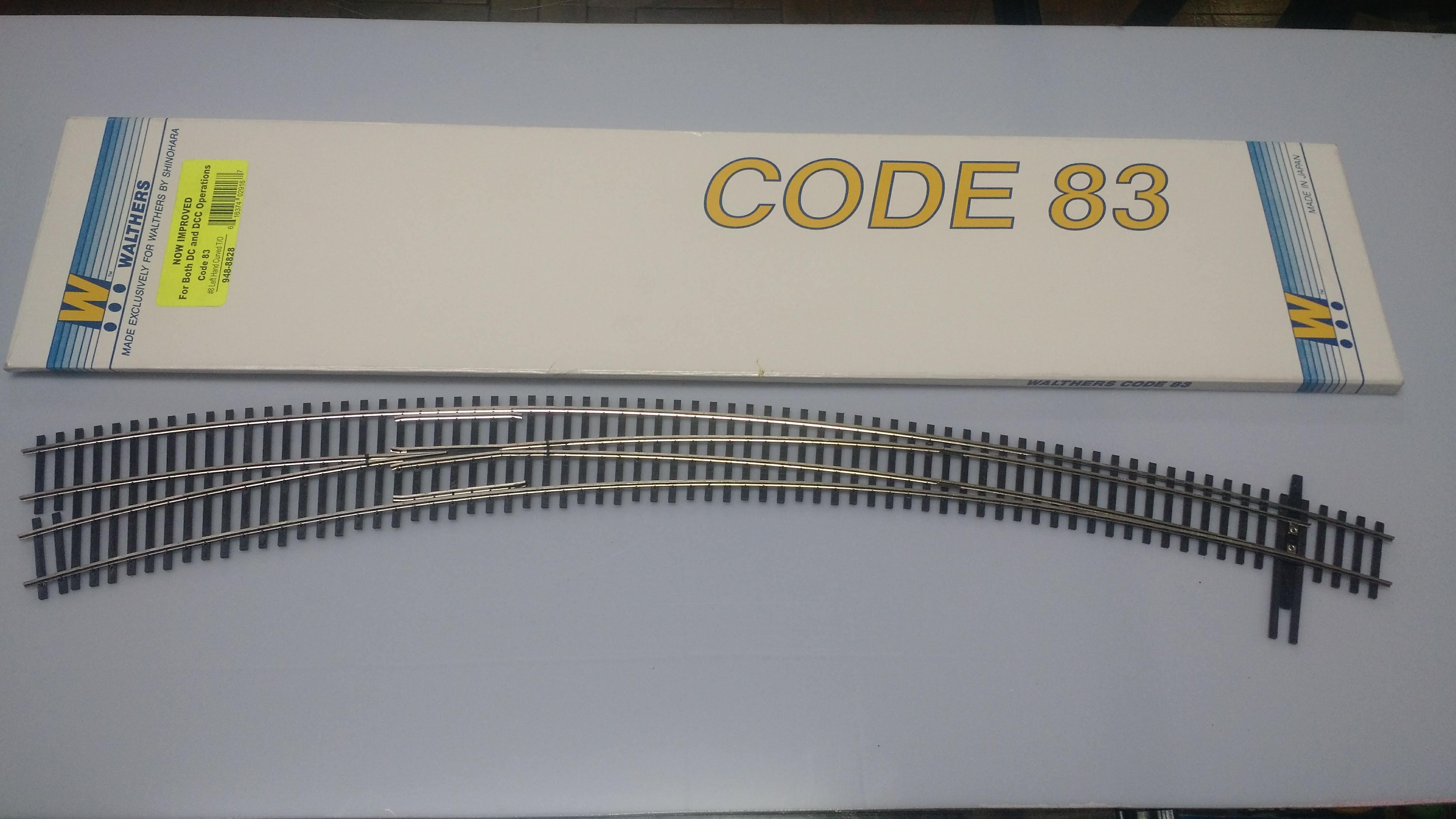 Desvio Curva  Walthers- Shinohara - 948-8828