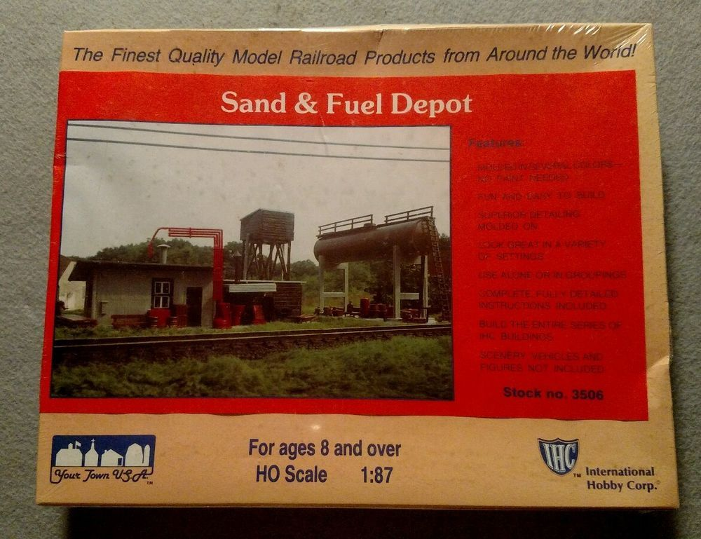Kit P/ Montar Sand& Fuel Depot  IHC - 3506 (Dinamarca)