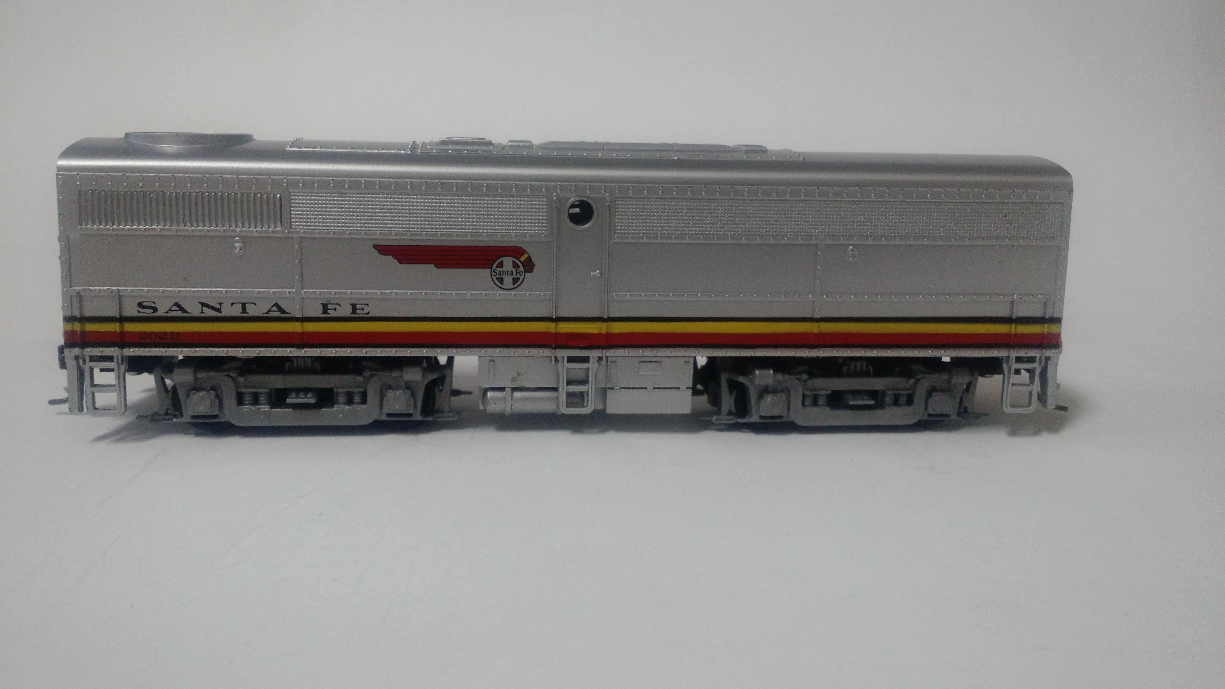 """Locomotiva Alco FA 1 Unidade """"B"""" Santa Fé 205- Trainline"""