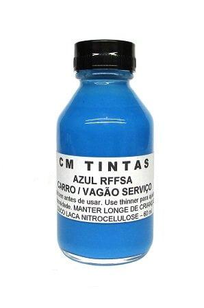 Tinta Carro de Passageiro RFFSA Azul - CM TINTAS - RF03