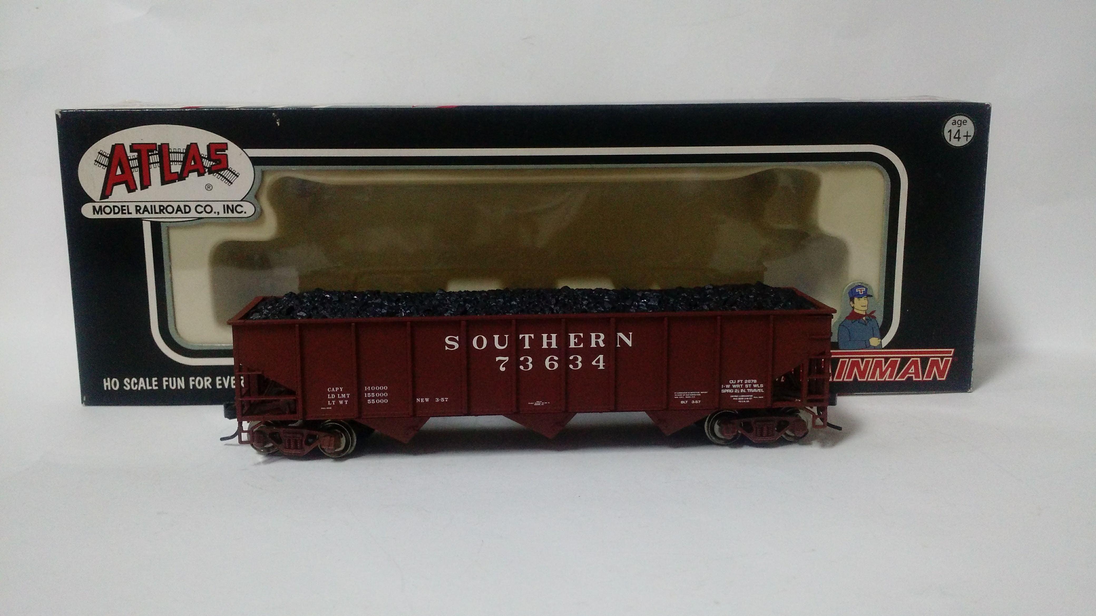 Vagão Hopper 70 Ton 3 Baias Southern #1401 - Atlas Trainman