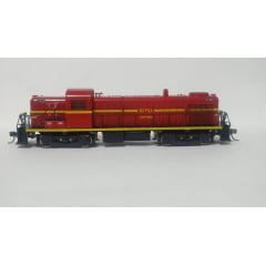 Locomotiva RS3 RFFSA Central #3318 - semi nova - Kato com DCC