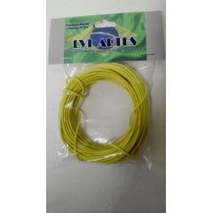 Fio Elétrico 0,20 mm para Maquete  10 mts - LVL F amarelo 3