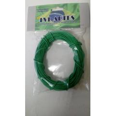 Fio Elétrico 0,20 mm para Maquete  10 mts - LVL F verde 2