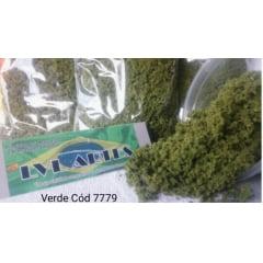 Vegetação para Decoração de Maquetes/Dioramas (Turf) Verde Médio  VVL- 7779