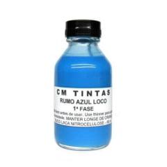 Tinta Rumo Azul Loco 1ª Fase - CM Tintas - RU01