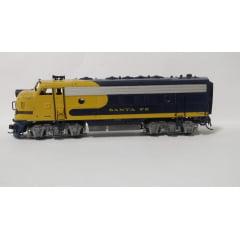 Conjunto de Locomotivas F7 A+B Santa Fé 2710 - Athearn