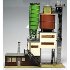 Fábrica de cimento B-950 FALLER (já montada) H0