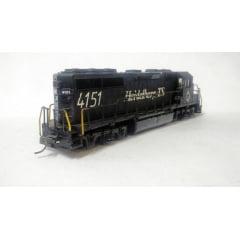 Locomotiva GP 40 # 4151 - Usada sem luz - Atlas