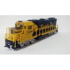 Locomotiva GP 40 Santa Fé sem Motor #3600 - Life Like
