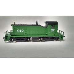 Locomotiva Manobreira SW1 Burlington Northern #912 - Model Power