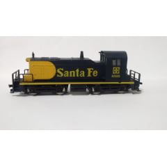 Locomotiva Manobreira SW1 Santa Fé #2325 - Model Power