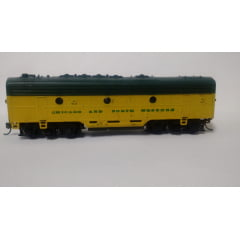 "Unidade ""B"" Locomotiva F7 Sem Motor - Chicago and North western - Athearn"