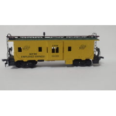 Vagão Caboose North Western #11135 - Athearn