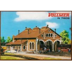 Kit P/ Montar Garagem Para 3 Locomotivas  Vollmer -7609