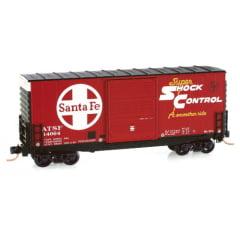 Vagão Box Car 40' Actchison Topeca & Santa Fé Micro-Trains - 101 00 050
