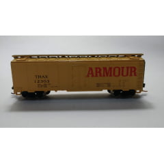 Vagão Box Car Refrigerador 40' Armour  E-R Models - 70201