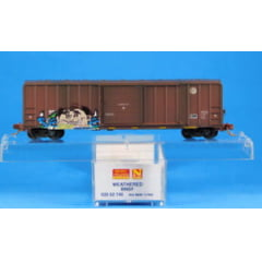 Vagão  Box Car, single Door- BNSF  Micro-Trains - 025 52 740