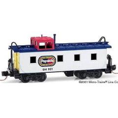 Vagão Caboose Popsicle - Micro-Trains - 100130