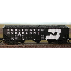 Vagão Hopper Equipado com Led - Burlington Northern -  Atlas - 32805 90