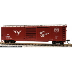 Vagão Single Door  Box Car, Misssouri Pacific  -  Atlas -255056